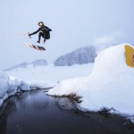 Brian Grubb performs during the Red Bull Wakeskate in Bjelasnica, Bosnia on February 3th, 2015